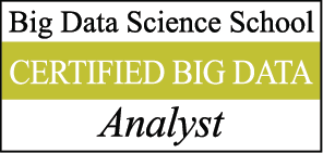 Big Data Certified Analyst Logo