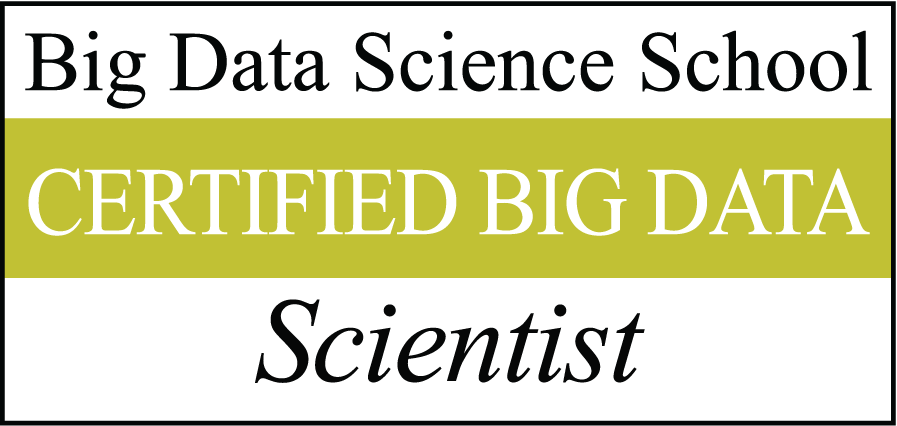 Big Data Science Certified Scientist Logo