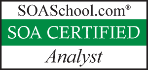 SOA Certified Analyst Logo